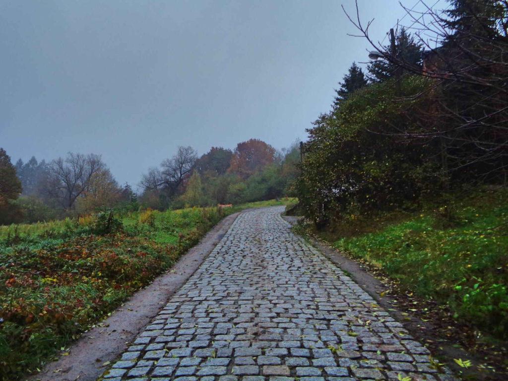 Wieliczka, podjazd na ulicy Kopernika