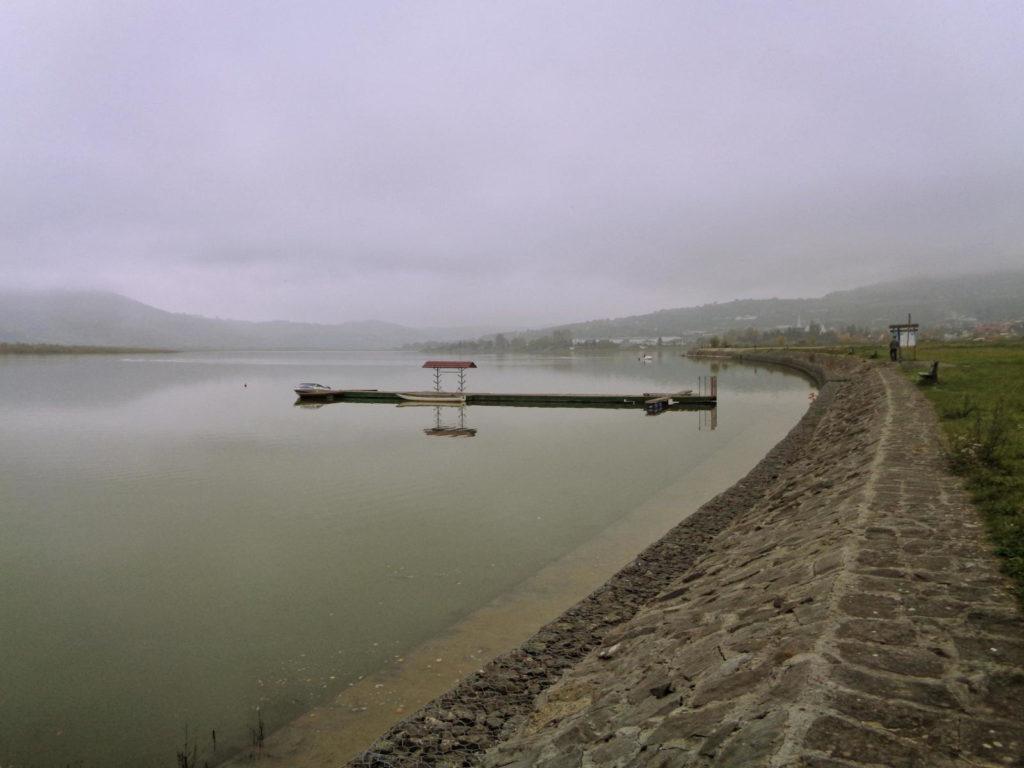 Jezioro Rożnowskie, Tęgoborze