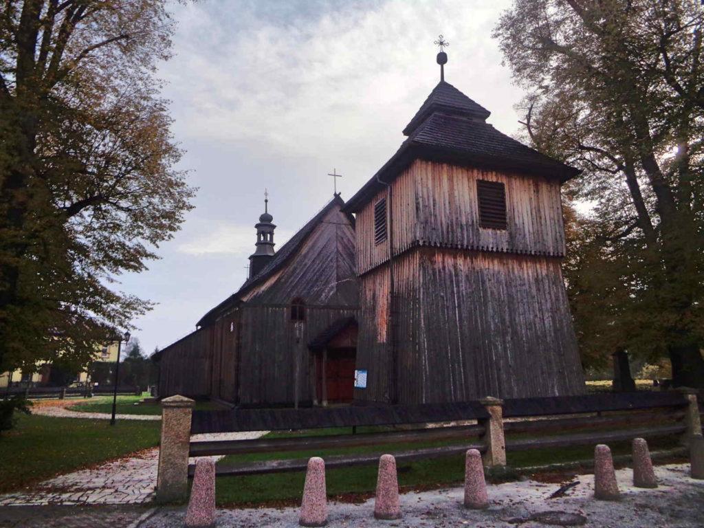 Łapanów, kościół św. Bartłomieja