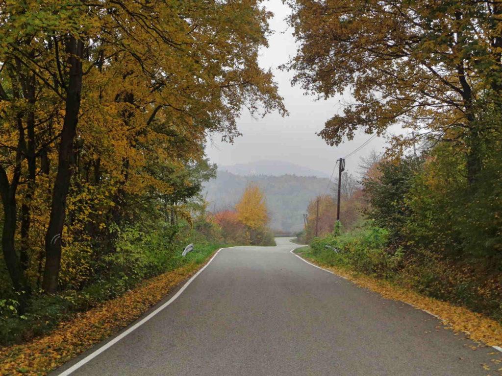 Przejazd przy Jeziorze Rożnowskim