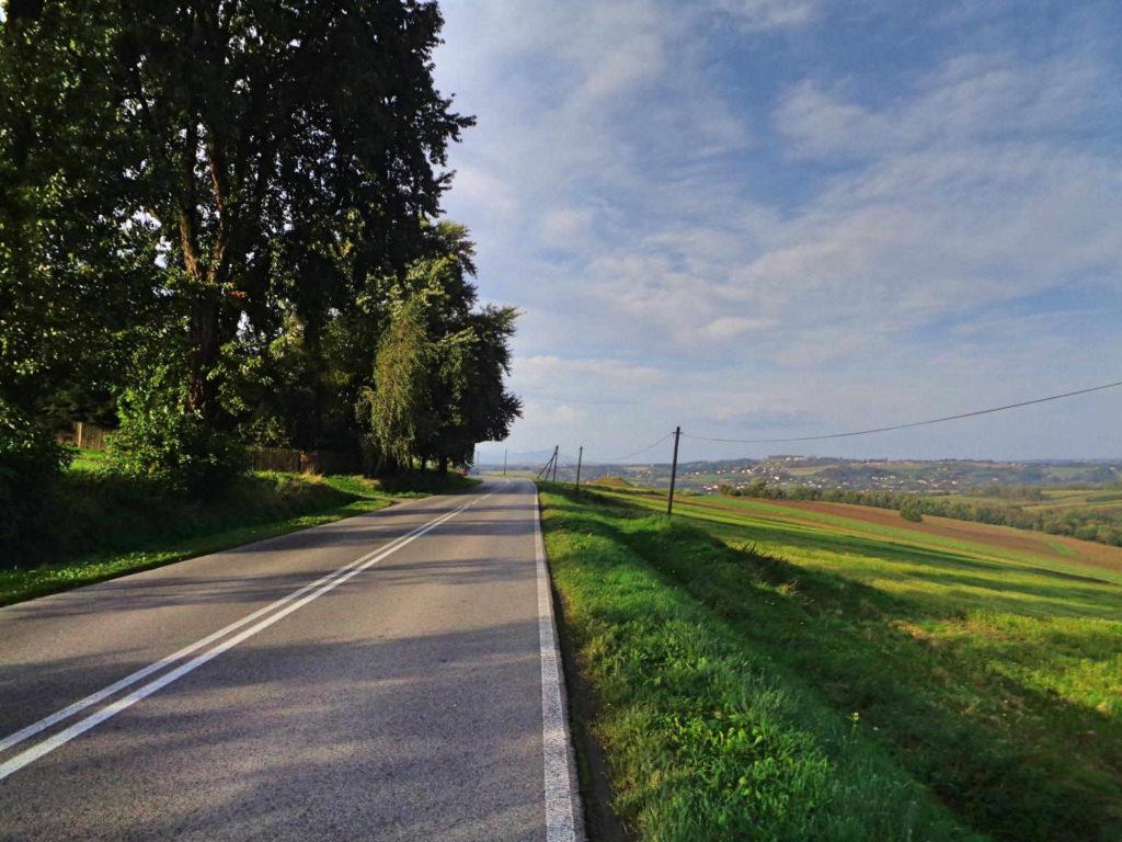Brzeźnica - Wadowice rowerem