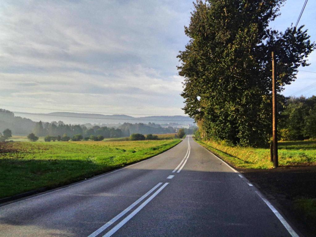 Droga Brzeźnica - Wadowice