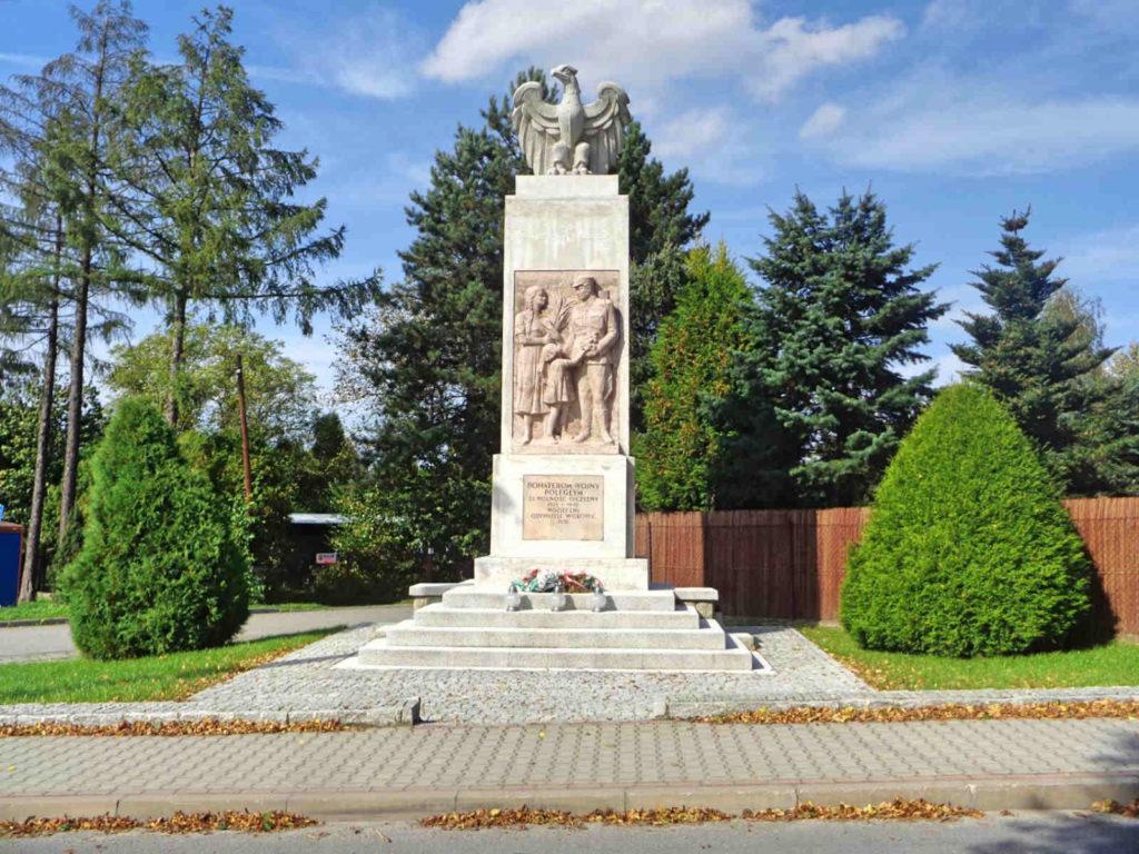 Wilkowice, pomnik