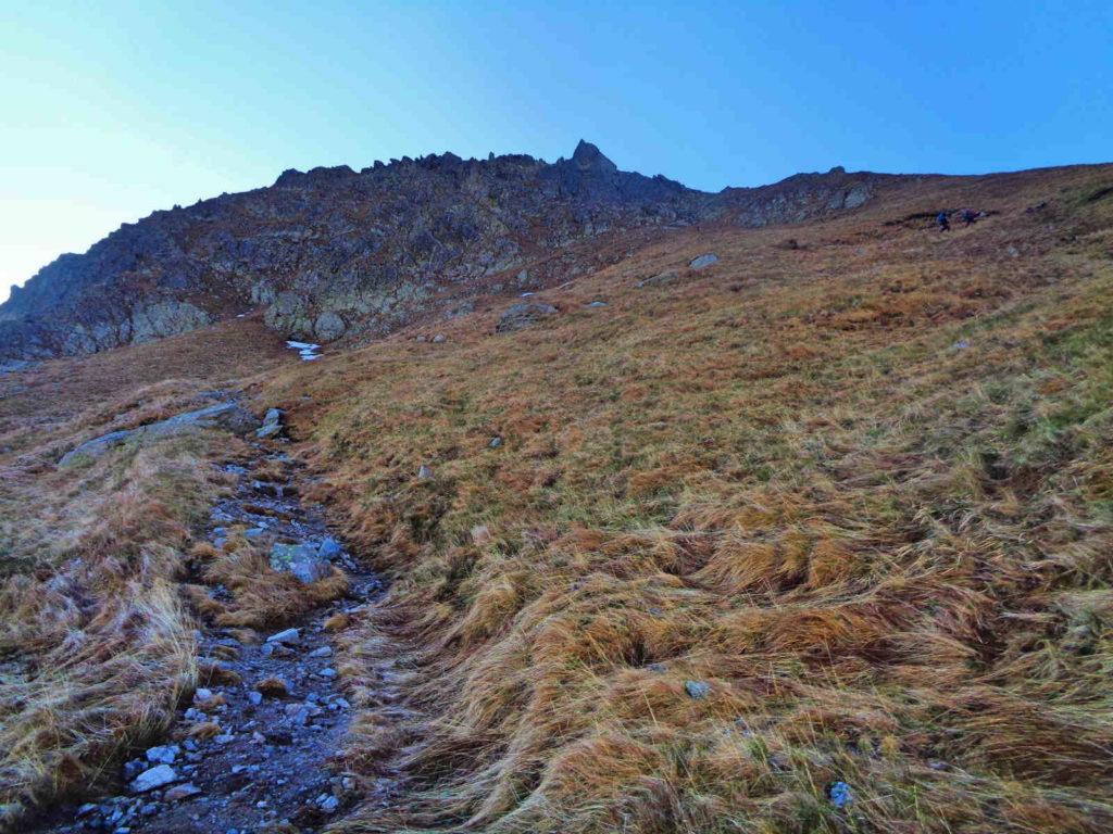 Podejście na Gładką Przełęcz