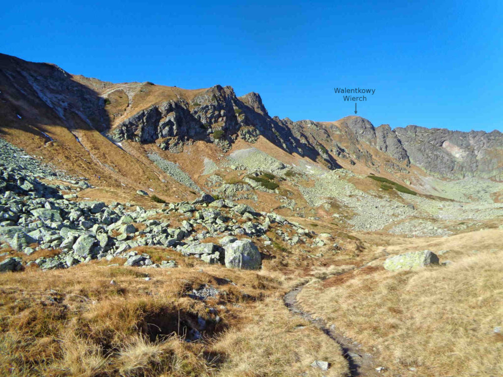 Stary szlak na Gładką Przełęcz