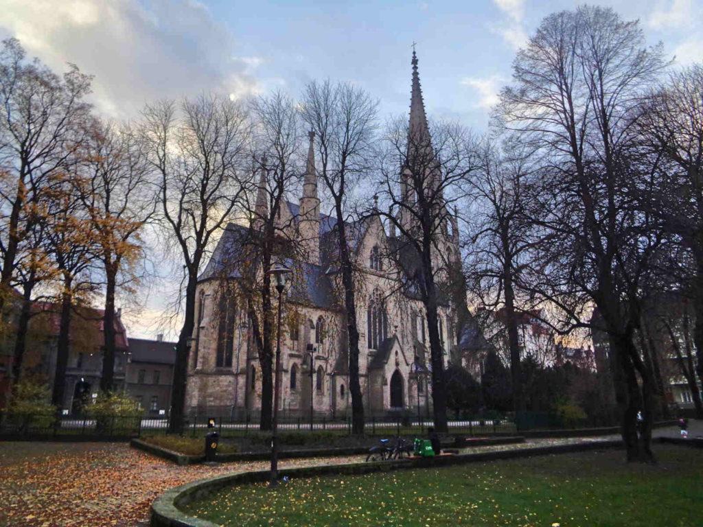 Katowice, kościół Niepokalanego Poczęcia NMP