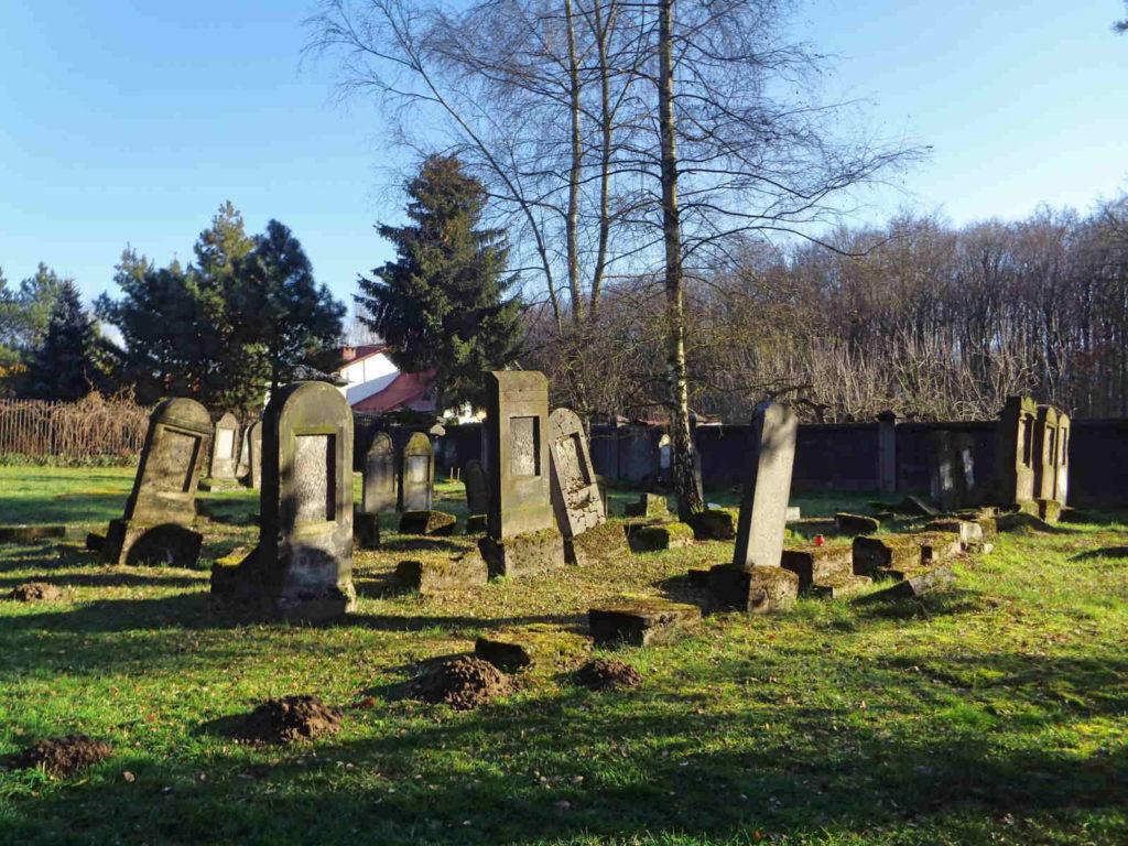 Niepołomice, cmentarz żydowski