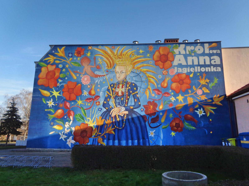 Niepołomice, mural