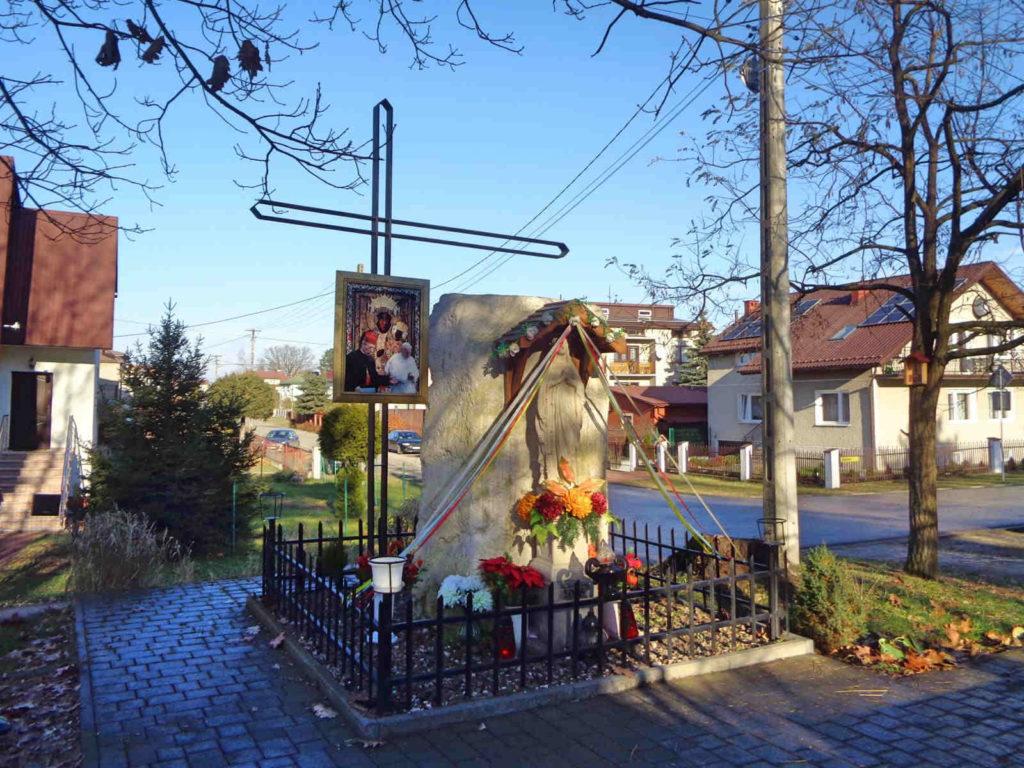 Niepołomice, pomnik ofiar zarazy