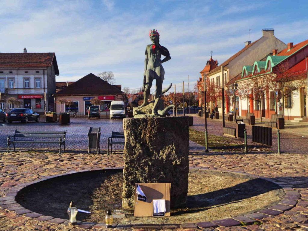 Pomnik Odważnej Justynki