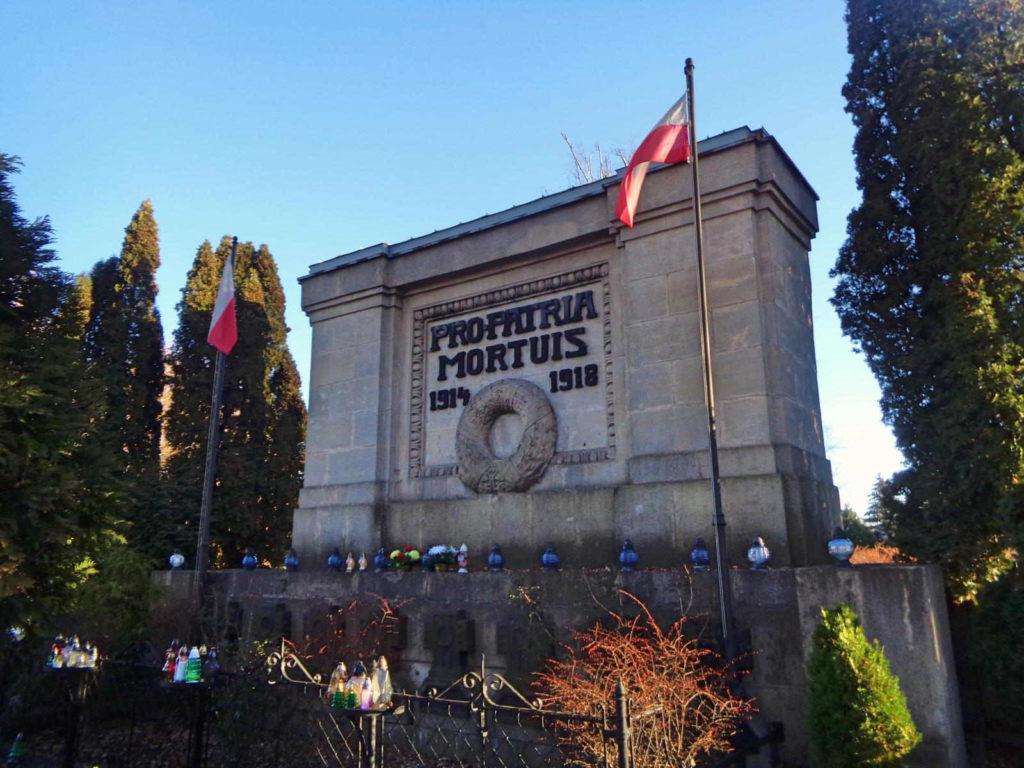 Wieliczka, cmentarz wojenny
