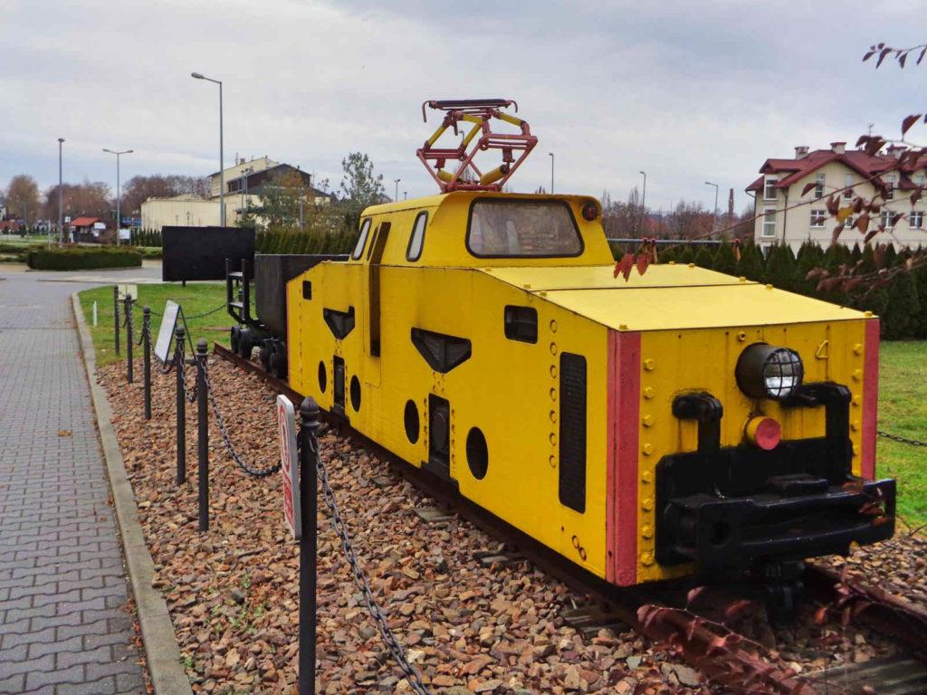 Park Kingi, pociąg