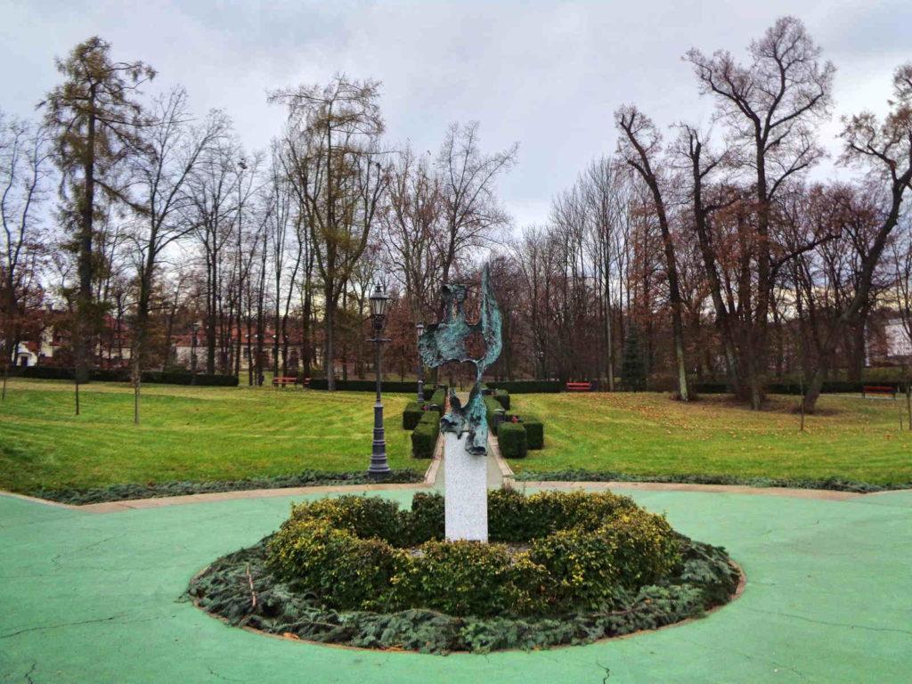 Park św. Kingi, Wieliczka