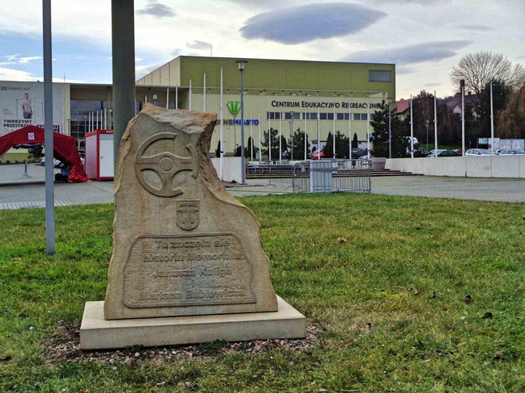Pomnik Janusza Kuliga i Mariana Bublewicza