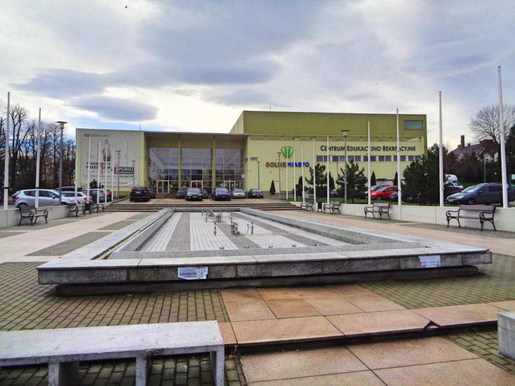 Solne Miasto, fontanna