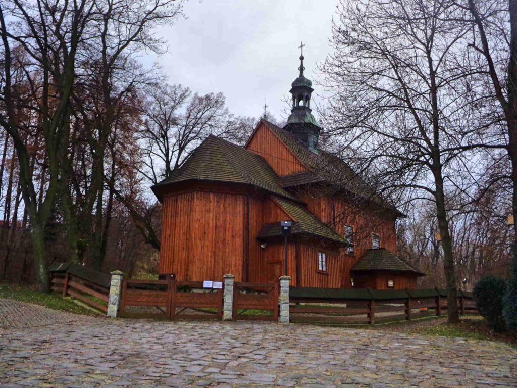 Wieliczka, kościół św. Sebastiana