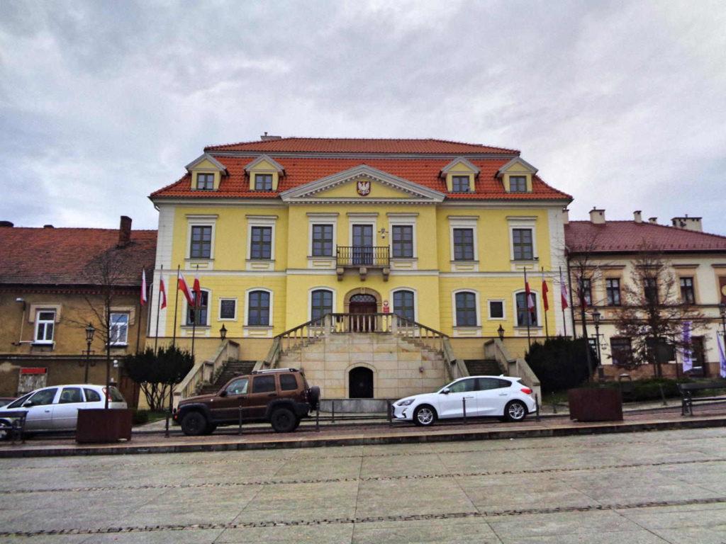 Wieliczka, Pałac Przychockich