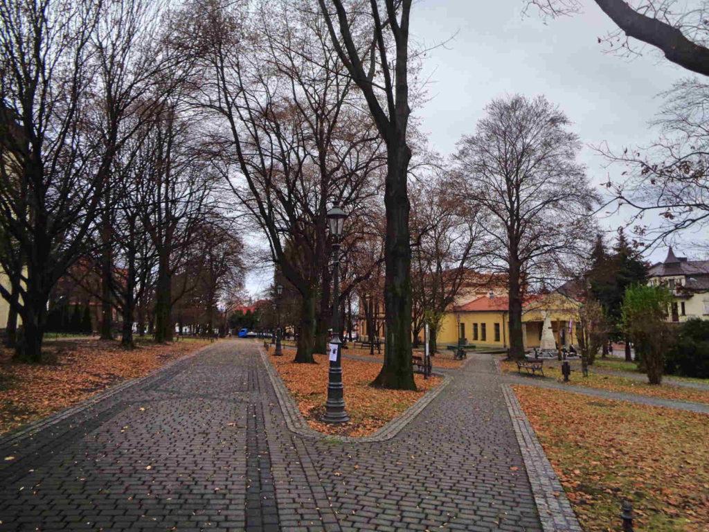 Wieliczka, Planty