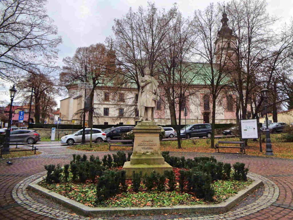 Wieliczka, pomnik Adama Mickiewicza