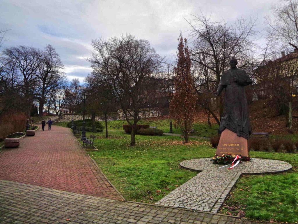Wieliczka, pomnik Jana Pawła II