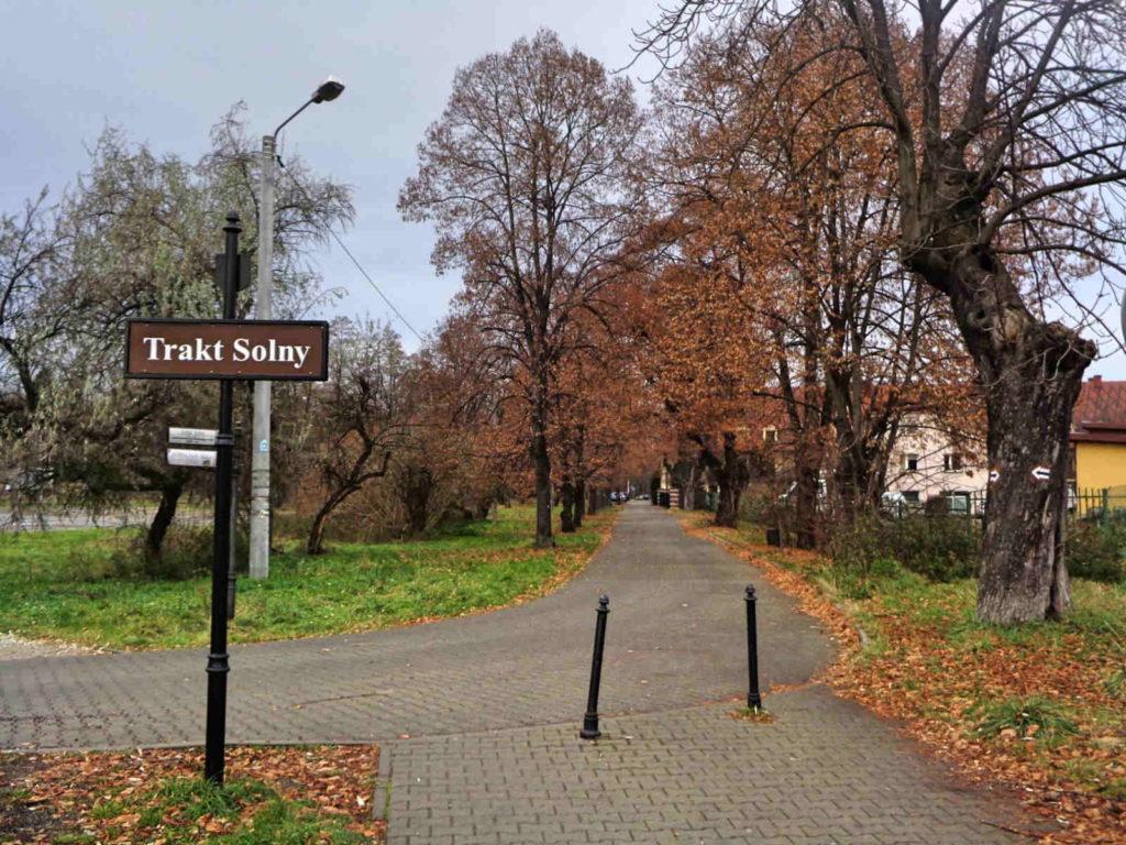 Wieliczka, Trakt Solny
