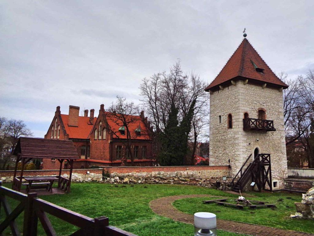 Zamek Żupny, baszta