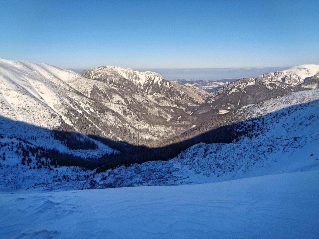 Dolina Pyszniańska zimą