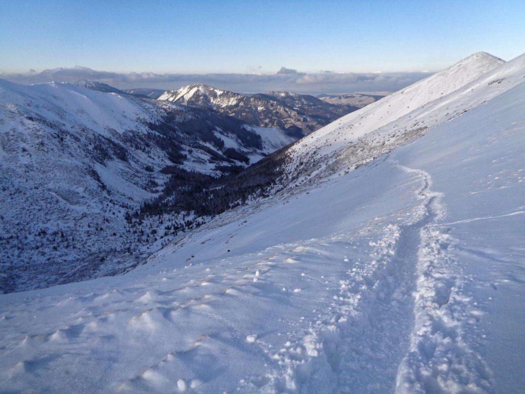 Dolina Starorobociańska zimą