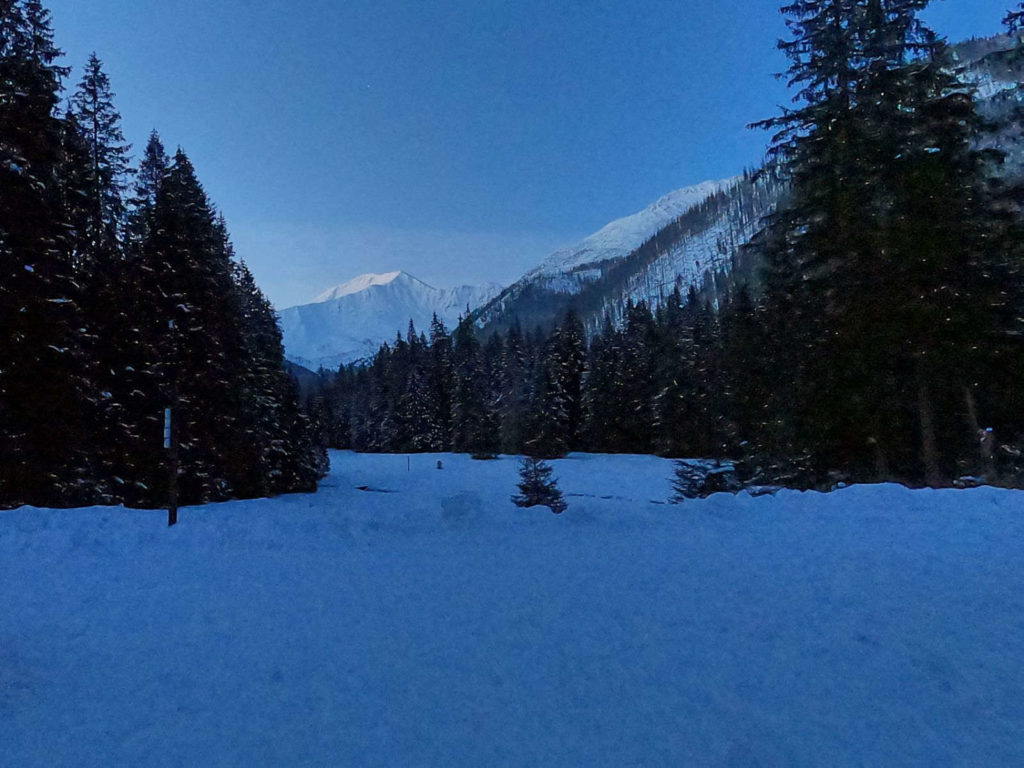 Hala Ornak zimą