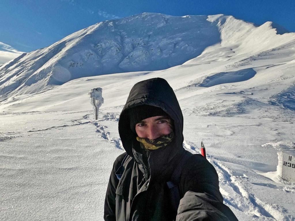 Pyszniańska Przełęcz w zimie