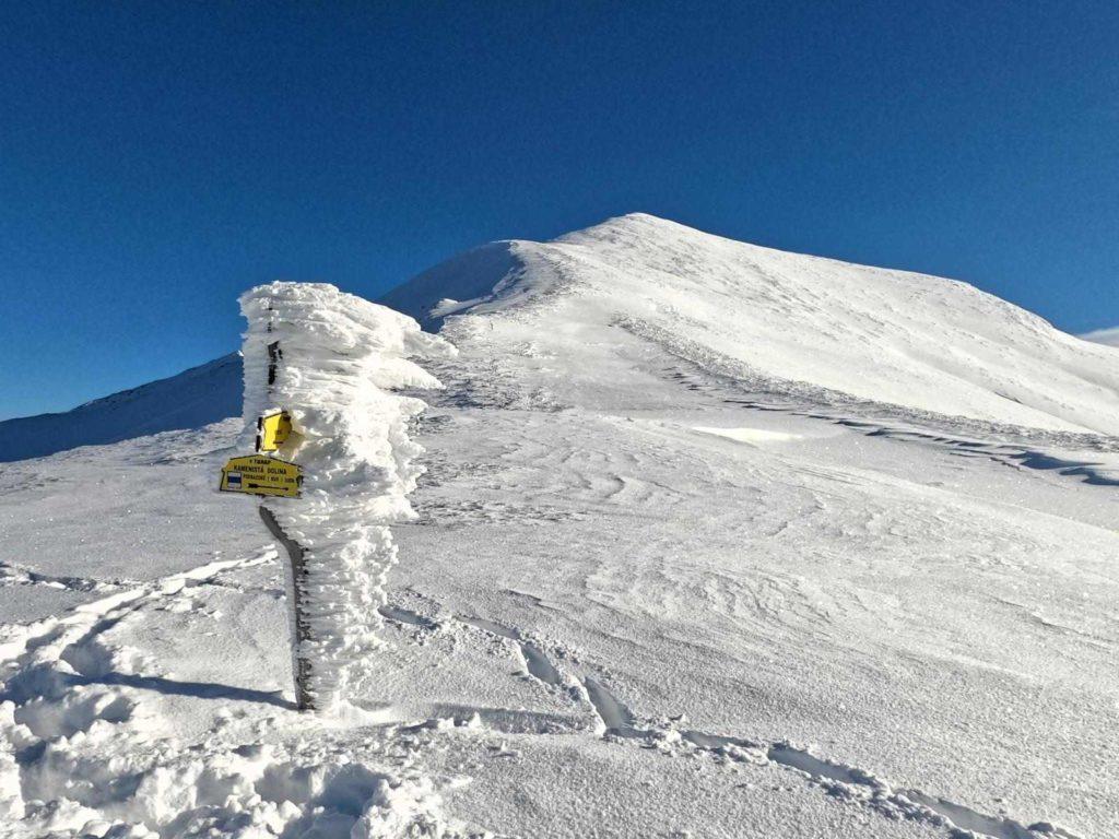 Pyszniańska Przełęcz zimą