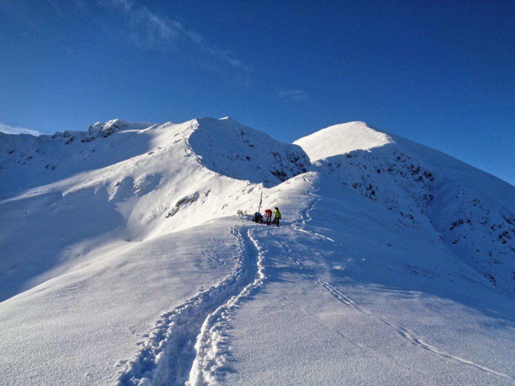 Siwa Przełęcz zimą