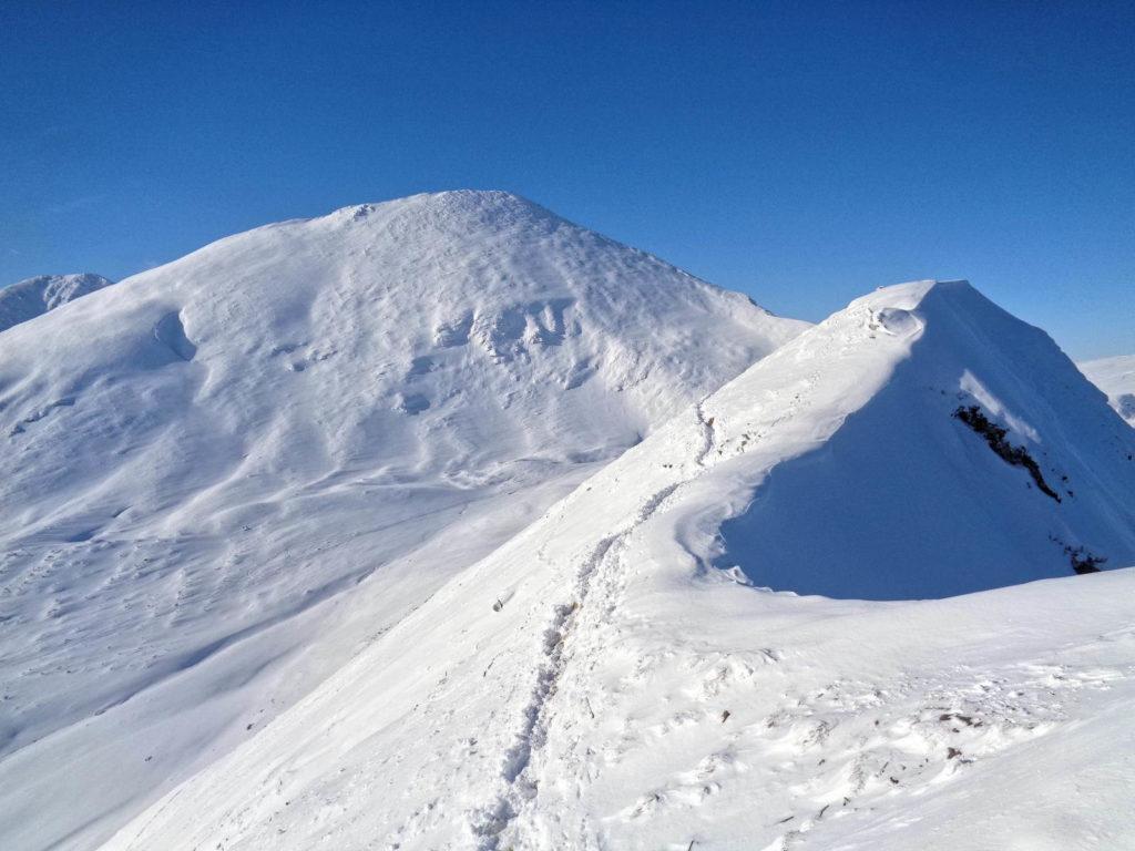 Szlak Bystry Karb - Siwy Zwornik w zimie