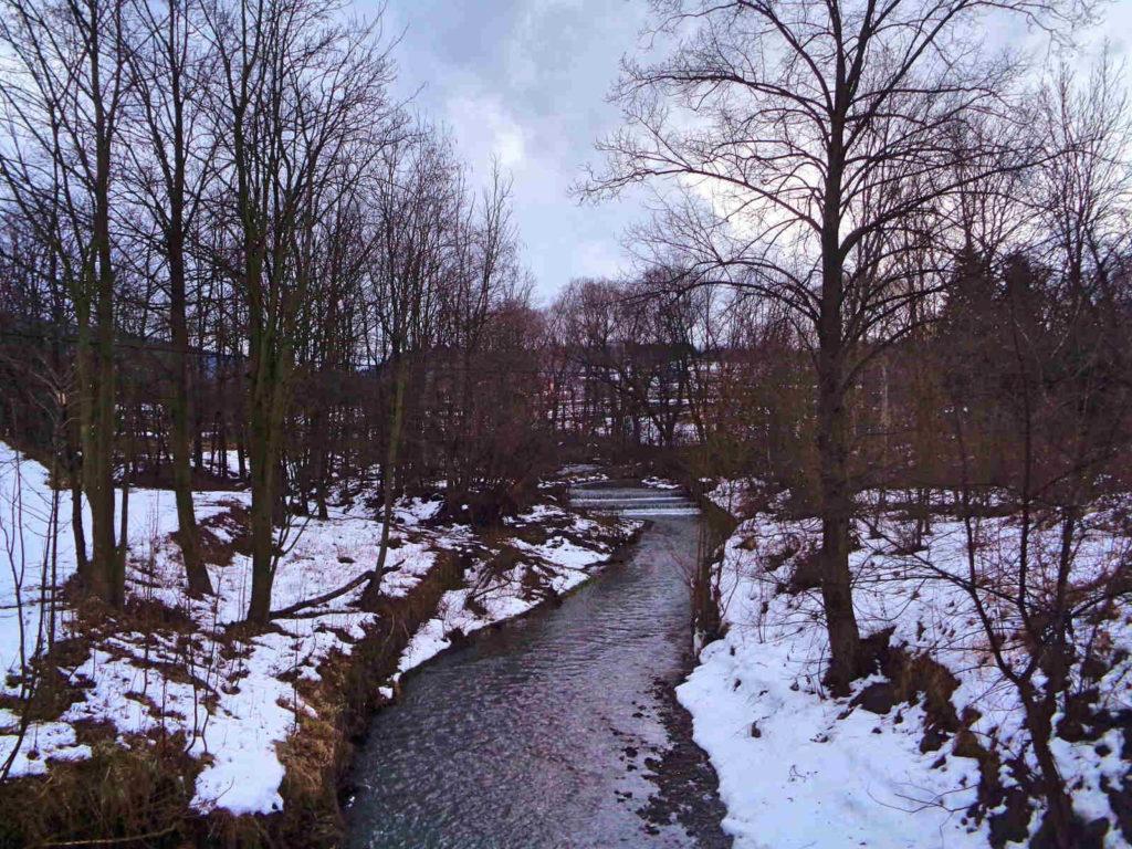Szkrzydlna, rzeka Stradomka