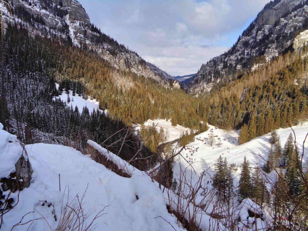 Jaskinia Mylna, Dolina Kościeliska