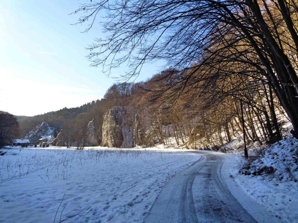 Ojcowski Park Narodowy w zimie