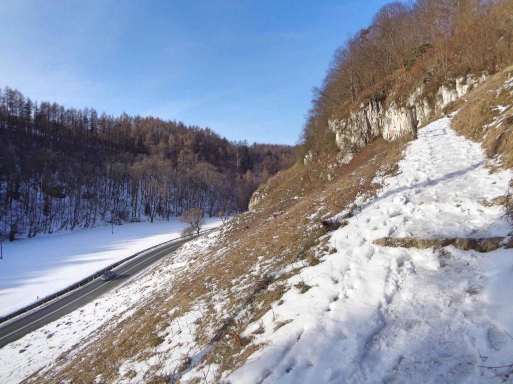 OPN, szlak do Pieskowej Skały