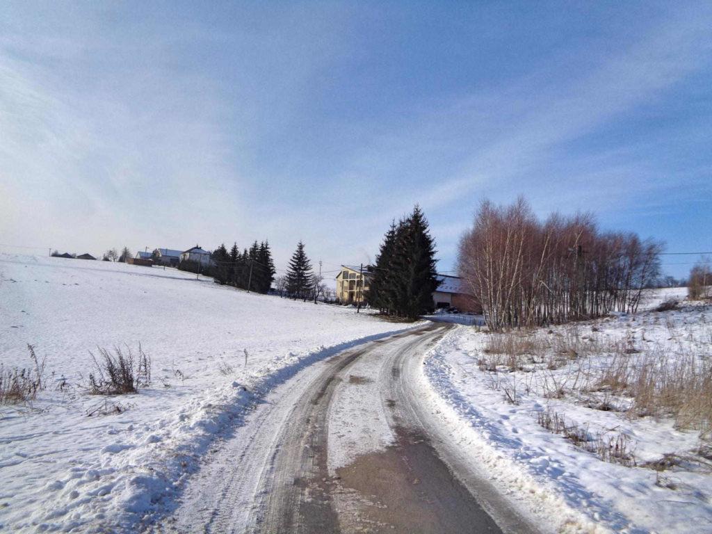 OPN, Szlak Dolinek Jurajskich w zimie