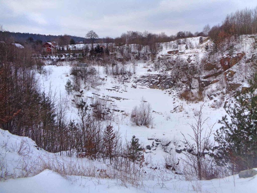 Dolina Racławki, kamieniołom Dębnik