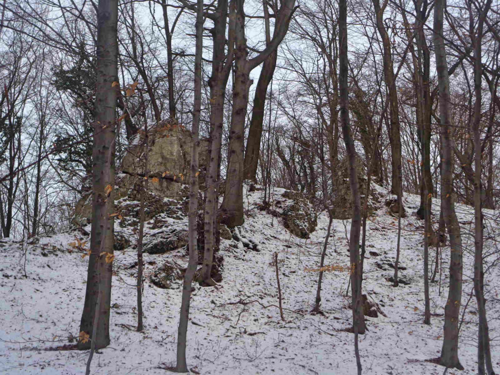 Dolina Szklarki zimą