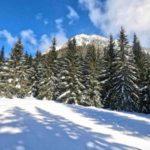Iwaniacka Przełęcz zimą, miniaturka