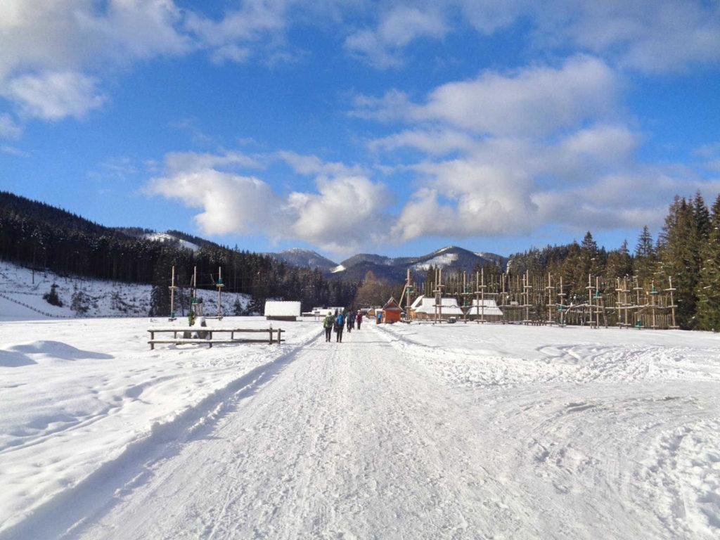 Siwa Polana zimą