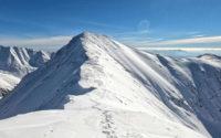 Jakubina, wejście zimą