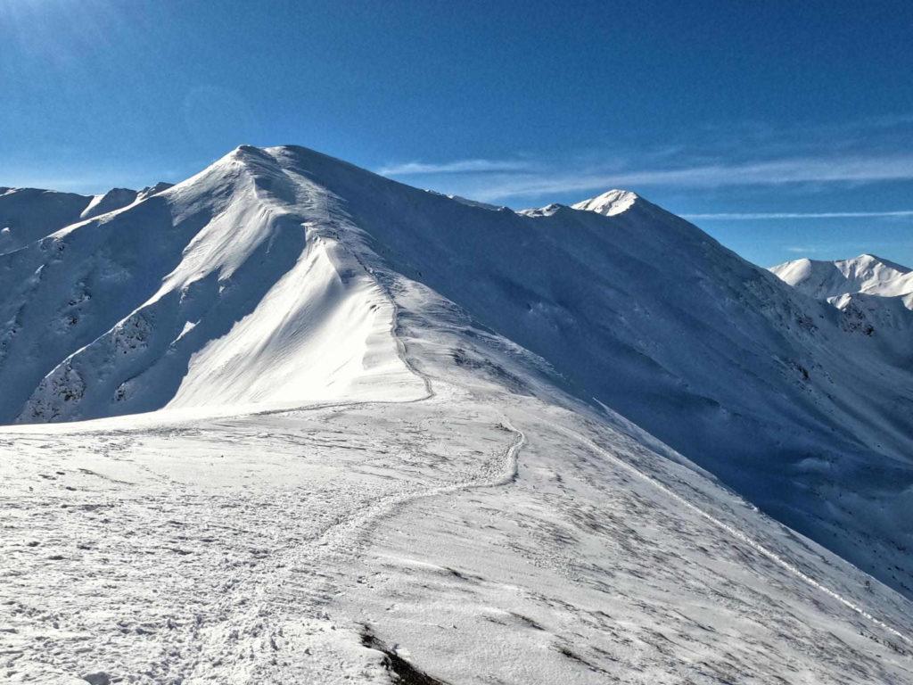 Kończysty Wierch zimą