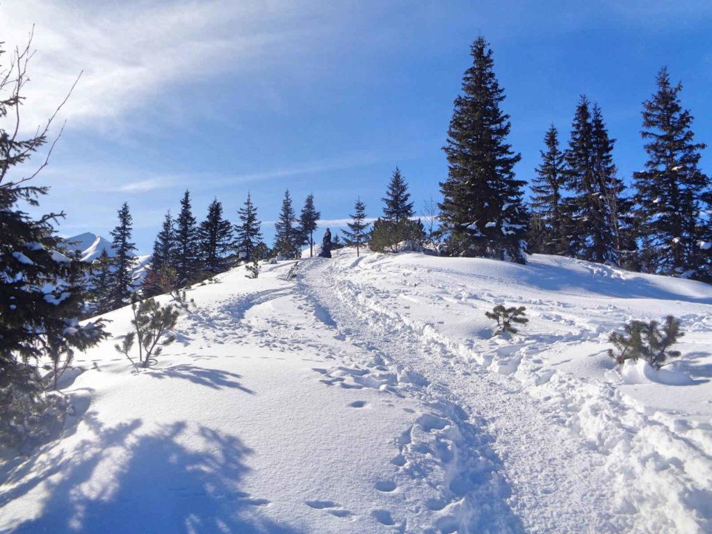 Trzydniowiański Wierch, wejście w zimie