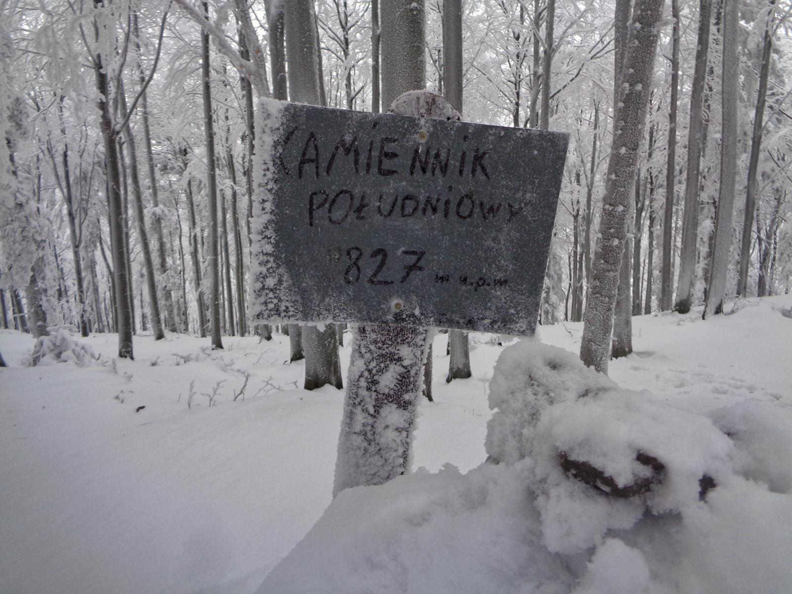 Kamiennik w zimie
