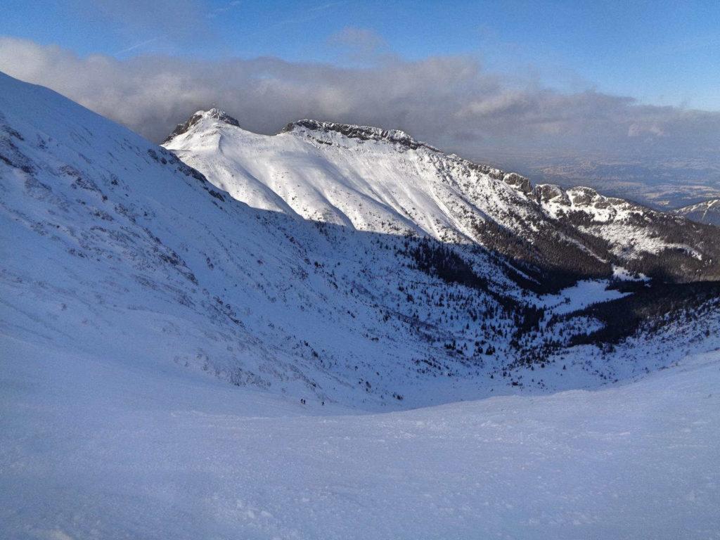 Przełęcz pod Kopą Kondracką zimą