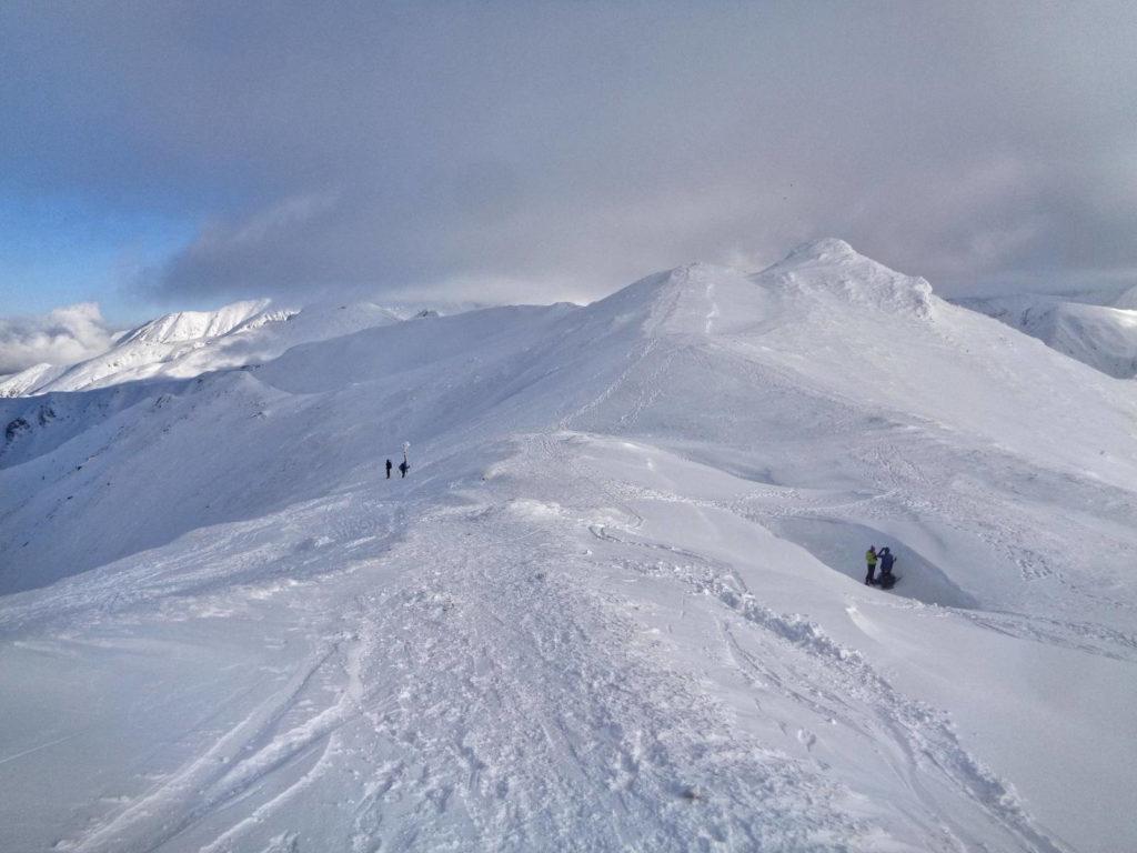 Zejście na Przełęcz pod Kopą Kondracką