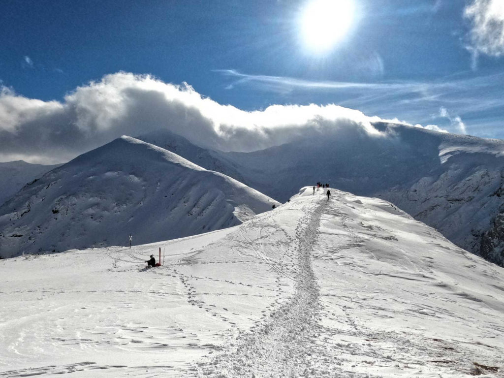 Zimą na Kopę Kondracka