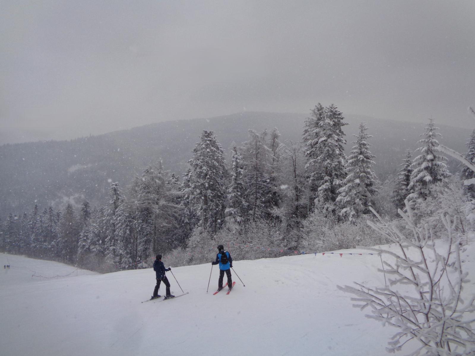 Góra Chełm, stok narciarski